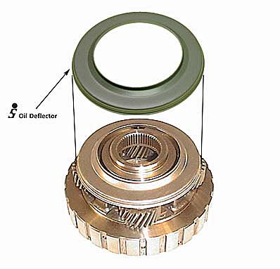 4L60E-SONNAX - Rear Planet Oil Deflector (без доставки)
