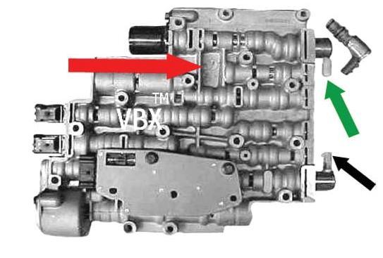 4L60E-ПЛИТА КЛАПАНОВ - VBX 96-01